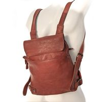 Harold's – Small Leather Rucksack / Daypack size S, Russet, Model 223702