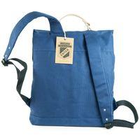 Enter – Großer stylischer Canvas Rucksack / Vintage Rucksack Größe L, Royal-Blau, Modell 1304