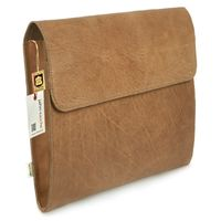 Jahn-Tasche – A4 document case / document holder, made out of leather, cognac brown, model 664