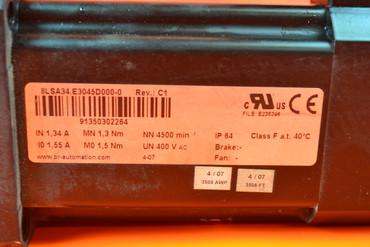 B&R Automation 8LSA34.E3045D000-0 Servo Motor – Bild 2