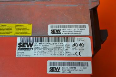 SEW Eurodrive MCF41A0022-5A3-4-00 Movidrive Steuerkopf – Bild 2