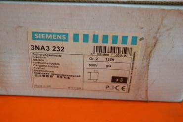 Siemens 3NA3 232 Sicherungseinsatz 3x – Bild 2