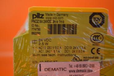 Pilz PNOZ X4 PNOZX4 24VDC 3n/o 1n/c 774730 Not-Aus-Schaltgerät – Bild 2