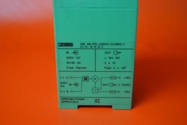 Phoenix Contact CM90-PS-230AC/2x15DC/1 Nr. 2943806 – Bild 2