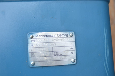 Mannesmann Demag KBA 100 A 4 R  Motor D06 -B 8-0-40-3/ – Bild 2