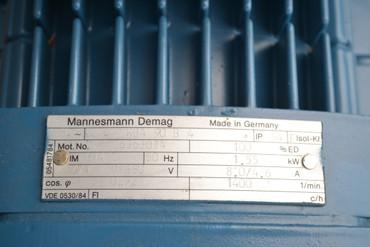 Mannesmann Demag KBA 90  B 4 Motor D06 -B 8-0-40-1/ – Bild 3