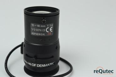 Ernitec 1/3 CCTV CS 10-40mm 1:1.4 – Bild 2