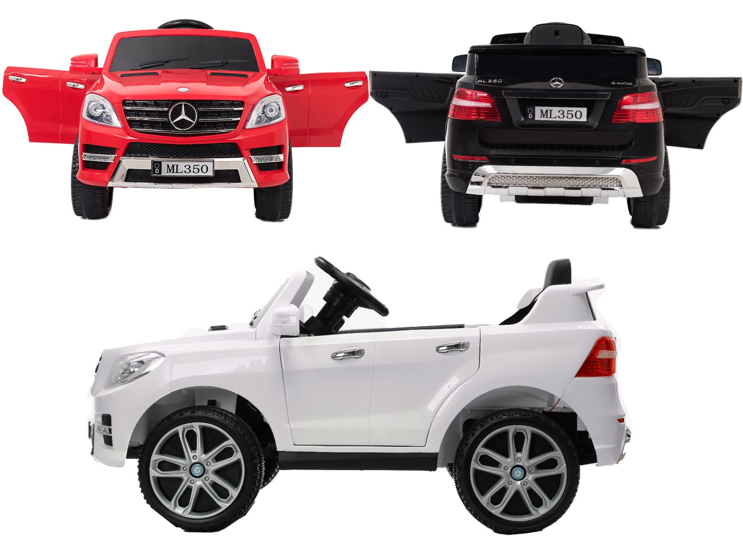 kinder elektroauto mercedes benz ml350 suv elektro. Black Bedroom Furniture Sets. Home Design Ideas