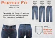Blue Willis Da.Stretch-Jeans gerader Bein-Schnitt-3