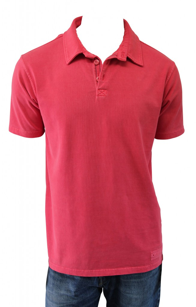 Mousqueton Herren Poloshirt rot