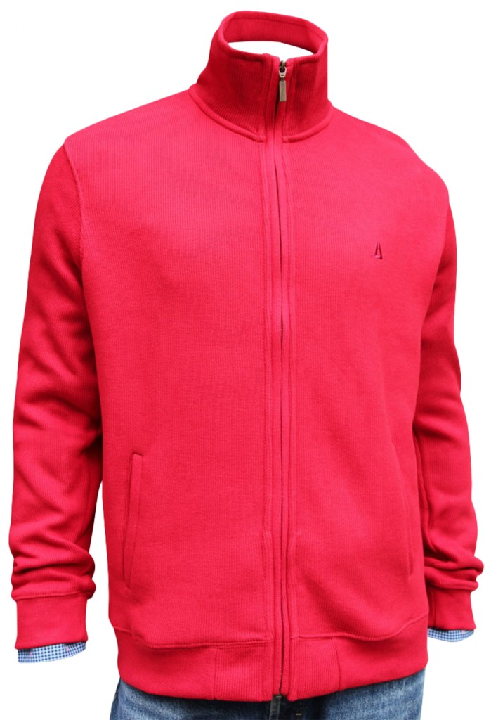 Key West Herren Strickjacke rot
