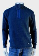 PIECE OF BLUE Herren Pullover d.blau-2