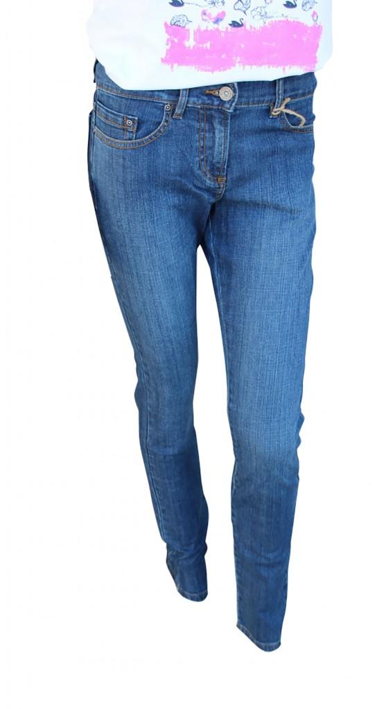 Piece of blue Da.Jeans indigo/ schwarz-blau