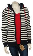 Key West Damen Strickjacke Windbreaker gestreift-3