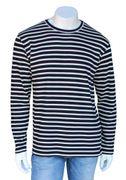 Key West, Hr. Langarm Shirt, dunkelblau-weiß Bild 2