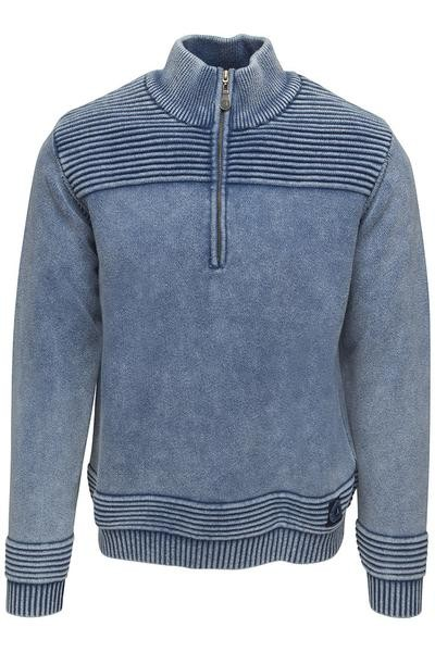 Key West Pullover Polo sky wash