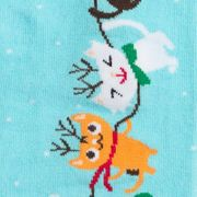 Sock it to me - Damen Socken lang - Jingle Cats-2