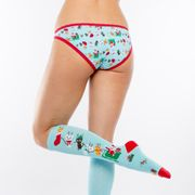 Sock it to me - Damen Slip Jingle Cats Gr. S, M, L-4