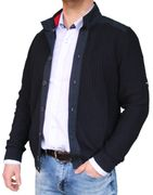 Saint James Herren Strickjacke Navy