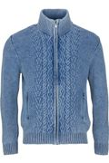 Key West Herren Strickjacke sky wash