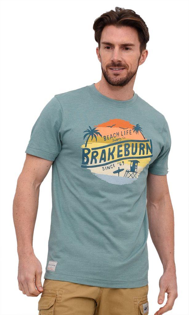 Brakeburn Herren T-Shirt Wal Beach life