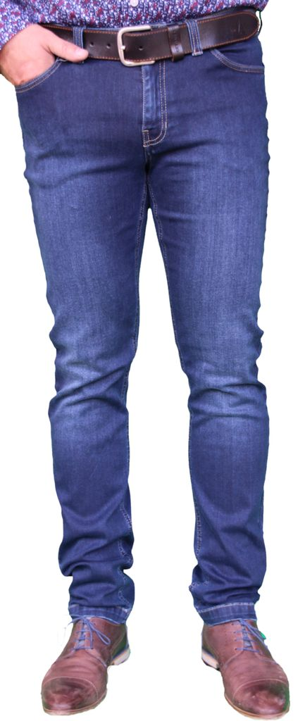 Saint James Herren 5 Pocket Jeans dunkelblau
