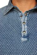 PIECE OF BLUE Herren Polo Pullover  Bild 7