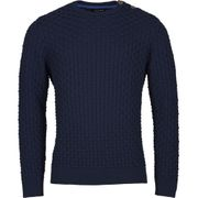 Key West, Hr. Pullover dunkelblau mit Wolle