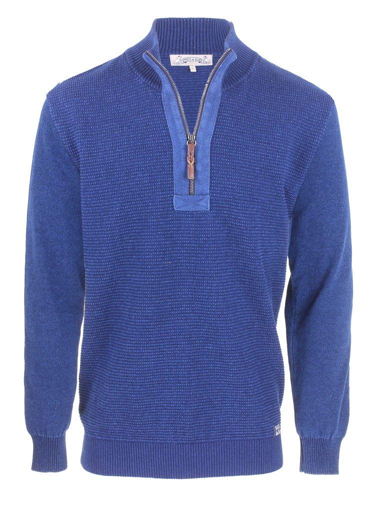 PIECE OF BLUE Herren Pullover indigo