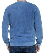 PIECE OF BLUE Herren Pullover sky wash oder indigo