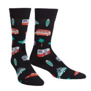Sock it to me - Herren Socken Day Tripper schwarz