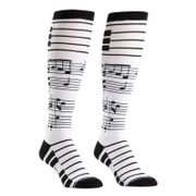 Sock it to me - Damen Socken lang - Foot notes
