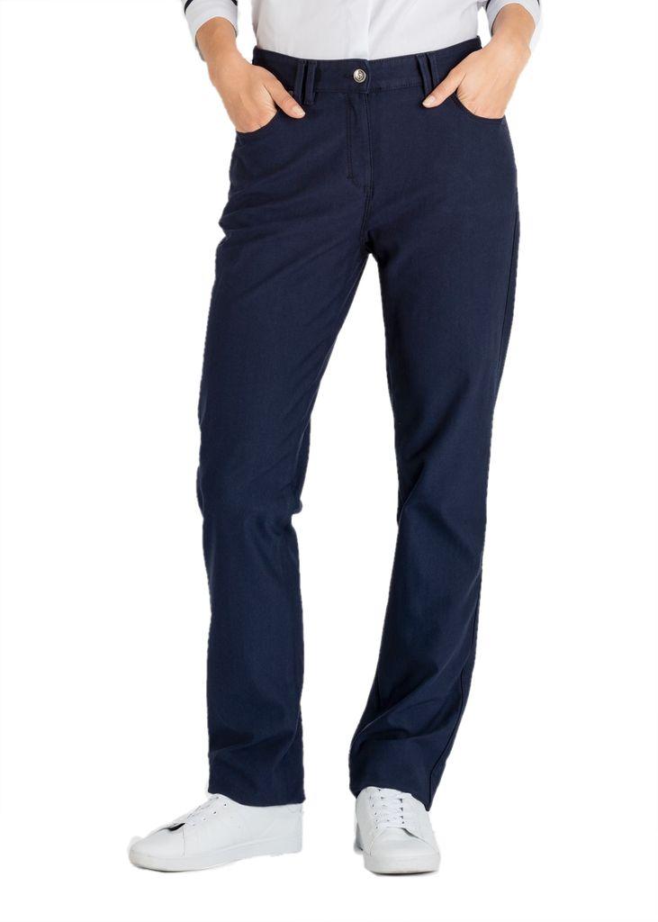Saint James Damen Jeans dunkelblau