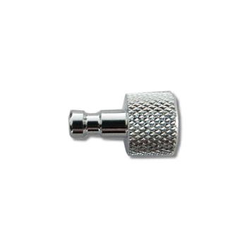 "plug in male | 1/8"" Chrome"