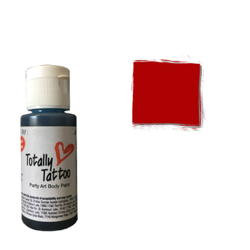 Badger Airbrush Tattoo Farbe | 30ml | Really Red – Bild 1