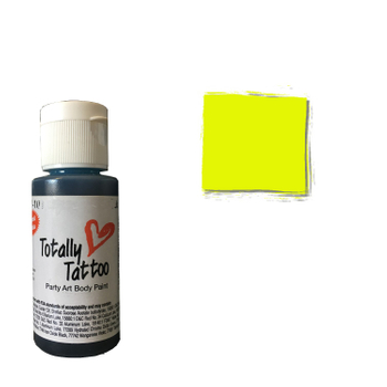 Badger Airbrush Tattoo Farbe | 30ml | Daisy Yellow – Bild 1