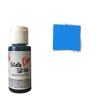 Badger Airbrush Tattoo Farbe | 30ml | Brilliant Blue – Bild 1