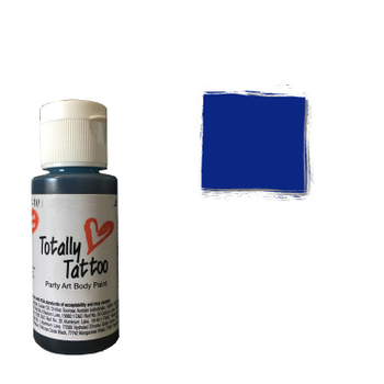 Badger Airbrush Tattoo Farbe | 30ml | Deep Blue – Bild 1
