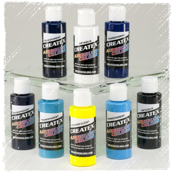 Createx Classic Color | 6 x 60ml | Kent Lind Set | cool