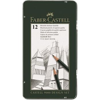 Faber Castell 9000 | 12er Bleistift Design Set