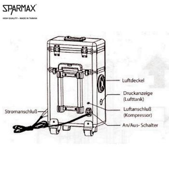 SparMax | MB 620 | Alu Koffer – Bild 4
