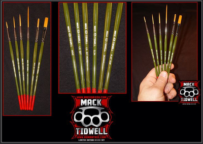 Tidwell Set | 6er Mack Brush Set |