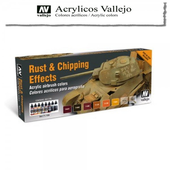 Vallejo | 8er Set | Rust & Cipping Effects