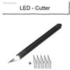 LED Cutter mit 5 Klingen