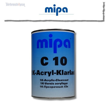 mipa C10| 1K Clearcoat 1ltr.