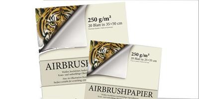 Airbrush Block  Premium | 20 Blatt