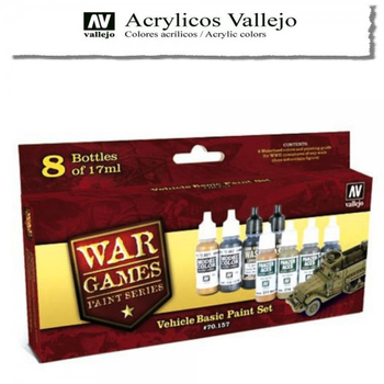 Vallejo | Wargames Serie | Vehicle Basic Set