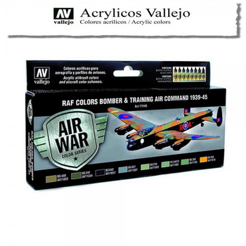 Vallejo | Air War | RAF Colors Bomber & Training Air Command 1939-1945