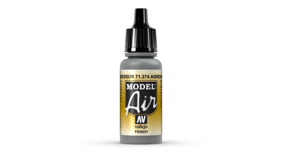 Vallejo | Model Air | 17ml | Agressor Grau