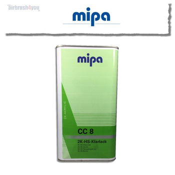 mipa CC8 Clearcoat 5ltr.